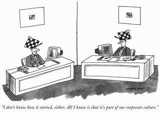 Corporate Cultue - Comic